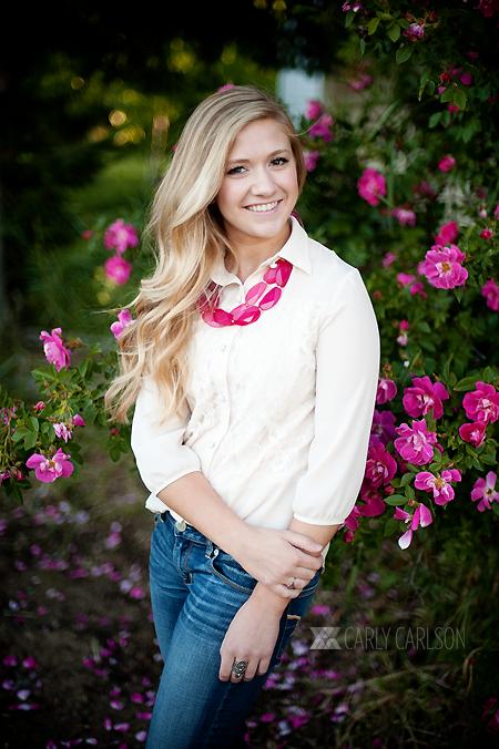 senior girl carly carlson